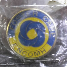 foster care Encomh yellow and blue pin enameled