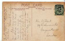 Genealogy Postcard - Family History - Dent - Bayswater - London   U2141
