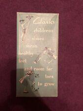 Clarks Children's Shoes Vintage Shoe Box - EMPTY!