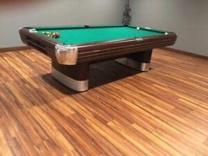 Vintage Brunswick Billiards 8 Anniversary Pool Table Mid Century Modern