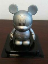 "Silver Tonal Mickey Topper 3"" Vinylmation Urban Series #7 TOPPER ONLY"