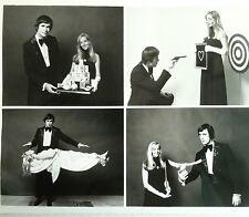 Vintage  Charles Merrill Magic & Illusion Magician Original Photo 8 x 10 inches