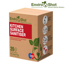 More details for kitchen cleaner spray soluble capsules x20 100% biodegradable makes 20x 750ml