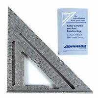 Swanson Tool Swanson NA202 Metric 250mm Speed Square, Silver, (25 cm)