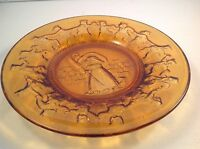 Vintage Tiara Amber Little Bo Peep And Amber See Saw Margery Daw Plates
