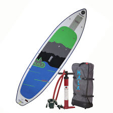"""2019 Hala Carbon Hoss 11'0"""" Inflatable Paddle Board w/BackPack, Pump"""