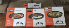 STOK GRILLING 4-ITEMS PACKAGE (griddle, vegetable tray, wok, removal tool)