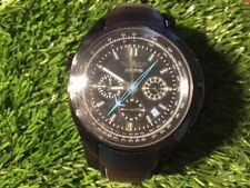 NEW Men's Chronograph Tachymeter Quartz G66 Analog Watch with Black Strap