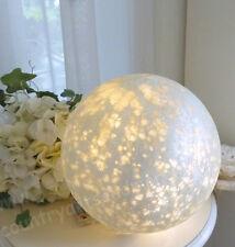 Lightball,Glaskugel,Leuchtkugel f. Lichterkette,Silber Matt,Wetterfest,Ø: 25 cm