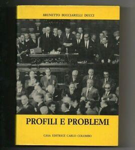 profili e problemi brunetto bucciarelli ducci democrazia cristiana aldo moro f v