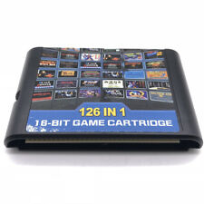 126 in 1 Sega Genesis Mega Drive Game Cartridge - 16-Bit Multi Cart