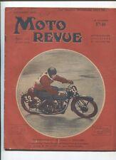 Moto Revue N°601  ;  15 septembre : tableau gamme des modéles Motobécane 1934-35