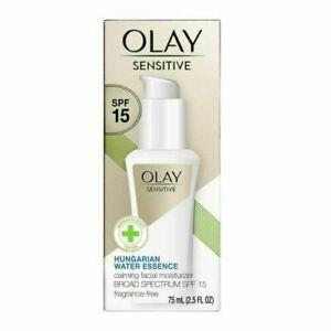 Olay Sensitive Hungarian Water Essence Facial Moisturizer 2.5oz