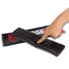 2x Carbon Fiber Car Seat Belt Shoulder Pad Cover Soft Shoulder Cushion For Dodge