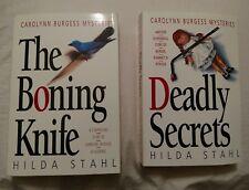 Hilda Stahl Carolyn Burgess Mysteries The Boning Knife & Deadly Secrets