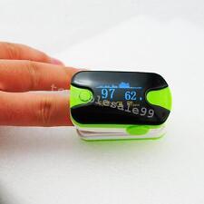 Green Handheld Scan OLED Fingertip Pulse Oxymeter SPO2/PR Oximeter Monitor FDA