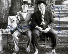 REPRINT - STAN LAUREL AND OLIVER OLLIE HARDY ~ Autographed signed photo 8x10
