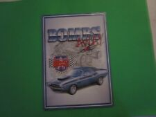tin garage repair shop advertising decor dodge chrysler plymouth hemi cuda bomb