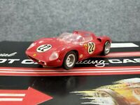 Vintage 1964 Original Monogram Ferrari 964 FERRARI 1/24 SCALE SLOT CAR AND CASE