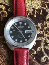 Vintage citizen moon dater automatic mens watch.