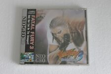 NEO GEO CD FATAL FURY 3  NTSC USA 100% ORIGINAL NEW SEALED OLD STOCK