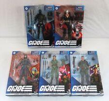 G.I. Joe Classified Figure Lot Flint Lady Jaye Snake Eyes Destro Commander MIB