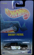 HOT WHEELS POLICE SHERIFF PATROL #59 POLICE DEPT CAR OFFICER HW DIE CAST 1991