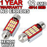 BMW E39 E46 E60 E90 E91 ERROR FREE Number Plate LED PURE 6000K WHITE Light Bulbs