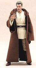 "MY-R2-BN: Brown Jedi Fabric Cloak Robe for 6"" Star Wars Obi-Wan (No Figure)"