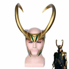 THOR 3 Ragnarok Trail Loki Laufeyson PVC Mask Halloween Cosplay Mask Helmet