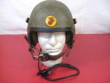 Early Vietnam Usmc T-5 Mc-1 Armored Vehicle or Tanker Helmet - Complete - Rare