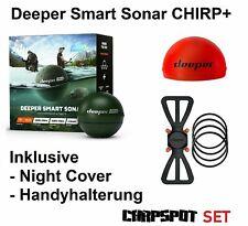 Deeper Smart Sonar Chirp+ WIFI GPS Echolot +NC + HH -besser als DEEPER PRO PLUS!