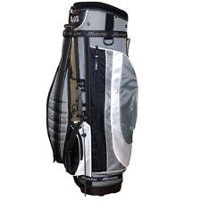 Mizuno Golf Bag Light Weight Cart Black Gray 4 Dividers With Rain Hood