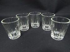 Set of 5 Vintage Shot Glasses