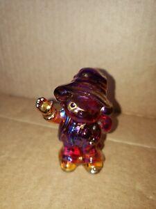 Boyd Glass Freddie Hobo Clown Carnival purple