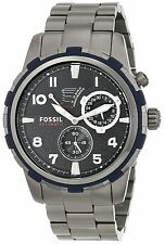 Fossil ME3039 Dean Dark Blue Dial Gunmetal Stainless Automatic Men's Watch