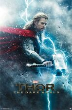 MARVEL COMIC THOR THE DARK WORLD MOVIE POSTER NEW 22X34 FREE SHIPPING