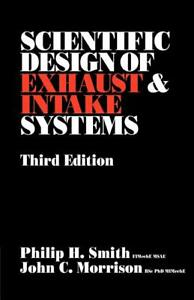 Scientific Design of Exhaust and Intake Systems Book ~ Improve Performance~NEW!
