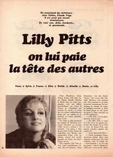 ?? CLIPPING Lilly PITTS  - 2 pages - 1971
