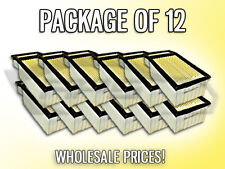 AIR FILTER AF6109 FOR 2012 2013 FORD F250 F350 6.7L PACKAGE OF 12 - WHOLESALE