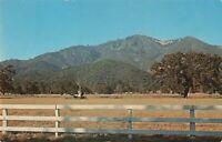 Postcard Valley of the Moon Mt Hood Sonoma California