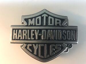 Harley-Davidson men's Classic Bar & Shield buckle .#99593-08VM.Antique nickel.