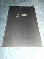 APOCALYPSE NOW(1979)MARLON BRANDO ORIGINAL PROGRAM NICE!
