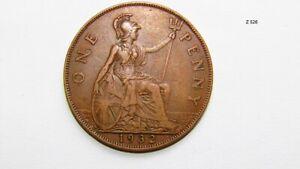 1932 GEORGE V PENNY RARE