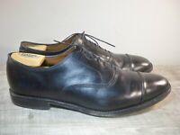Allen Edmonds Park Avenue Black Leather Cap Toe Oxford Shoes Men's 12 USA Made