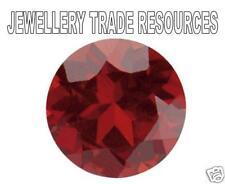 Natural Rich Red Garnet Round Cut 4mm Gem Gemstone