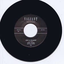 ANDY STARR - JUST A WALKIN' (FABULOUS PIANO & GUITAR ROCKABILLY STROLLER) REPRO