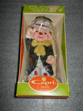 Vintage New In Box Capri Clown Candle Made In Japan