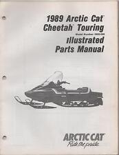 1989 ARCTIC CAT SNOWMOBILE CHEETAH TOURING  p/n 2254-493 PARTS MANUAL (992)
