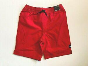 Vans New Primary Volley High Risk Red Boardshorts Swimwear Boy's Youth Medium